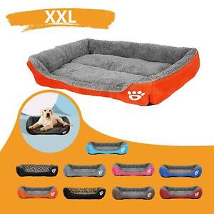 XXL Extra Large Dog Beds Pet Cushion House Waterproof Soft Warm Kennel Blanket