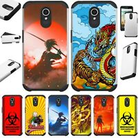 FUSIONGUARD For AT&T AXIA Phone Case Hybrid Cover  D4