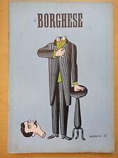 1954-IL BORGHESE-Direttore LEO LONGANESI-Anno V, Numero 36