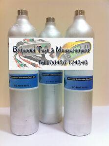 Gas detector Calibration gas