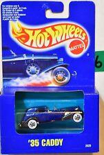 HOT WHEELS 1991 BLUE CARD '35 CADDY BLUE