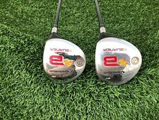 TaylorMade Burner Tour Launch 5-Wood & 7-Wood Golf Clubs M-Flex Very Good