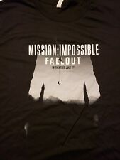Mission Impossible Fallout 2018 Movie T-shirt Studio Theater Promo SWAG Mens XL