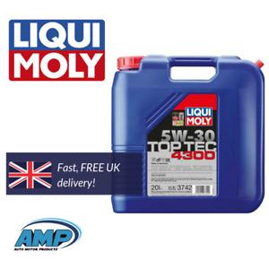 Liqui Moly 3742 Top Tec 4300 5W30 20L