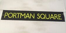 """West London Bus Blind 48 42""""- Portman Square"""