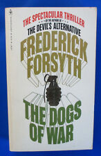 1980 THE DOGS OF WAR by Frederick Forsyth Paperback 13th Bantam 14758-7 VF+