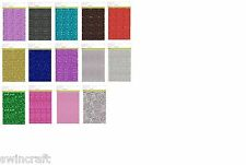 CraftEmotions GLITTER PAPER Single Sided  5 Sheets A4 29x21cm 120gr