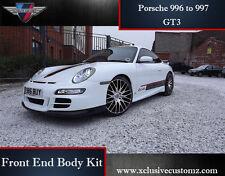 Porsche 911 996 to 997 GT3 Conversion Front End Body Kit