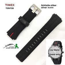 Timex Replacement band T2N720 Buckle silver Watch Spare Original e-Tide & Temp