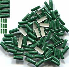 BAR Rectangle Rhinestuds Pearl Color  GREEN Hot fix 1 gross