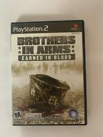 Brothers In Arms Play Station 2 Used Game A07
