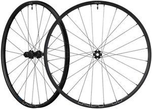 "Shimano WH-MT600 27.5"" bicycle MTB bike CentreLock Tubeless Wheelset 10&11 speed"