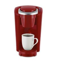 New K- Compact  Single Serve K-Cup Pod Coffee Maker-Imperial Red
