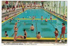 Butlins; Bognor Regis, The Indoor Heated Pool PPC, Local 1962 PMK