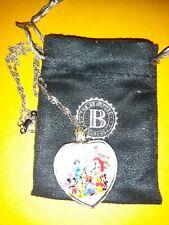 Bradford Exchange Magic Of Disney Crystal Heart Pendant