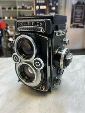 Rolleiflex 3.5f Xenotar 75mm f3.5 White Faced TLR Medium Format - Rare