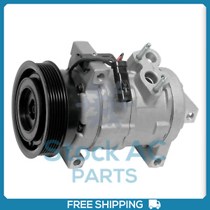 New A/C Compressor for Dodge Challenger, Charger 5.7L - 2006 to 2010