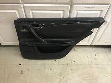 MERCEDES BENZ E55 W210 REAR BACK RIGHT PASSENGER SIDE  INTERIOR DOOR PANEL BLACK