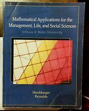 Mathematical Applications for the Management, Life, & Social Sciences (10th Ed.)