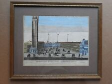 """""""THE PROSPECTIVE AREAS OF ST. MARK & ST. GEMINIAN IN VENICE"""" PRINT IN WOOD FRAME"""