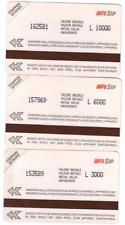 3 SCHEDE  TELEFONICHE URMET BIANCHE AA C&C 1080  1081 1082 GOLDEN P 13-14-15 MAG