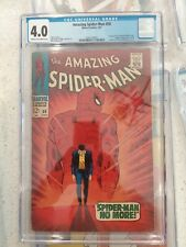 comic books the Amazing Spider-Man #50 cgc