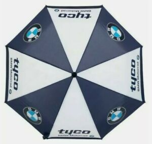 Official Premium Quality BMW Team Large Umbrella Auto Pop Tyco Free Delivery