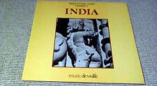 JOHN LEACH & FRANCIS SILKSTONE INDIA DE WOLFE LIBRARY LP 1984 Sitar Tabla Flute