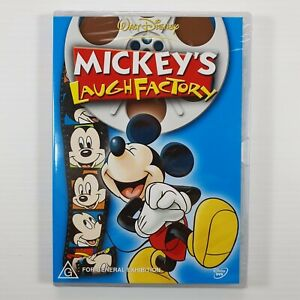 Mickey's LAUGH FACTORY : NEW Disney DVD : Mickeys Mouse