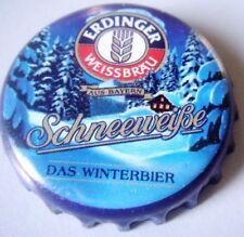 1 Kronkorken Bier Erdinger Schneeweisse