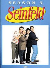 Seinfeld - Season 3 (Dvd, 2004, 4-Disc Set) .shelf