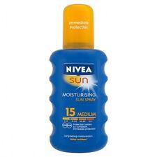 Nivea Sun Sunscreen SPRAY SPF 15- 200ml-Made in Germany