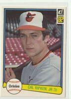 1982 Donruss Baseball | Cal Ripken Jr RC | #405 | Orioles | HOF Sharp Corners L