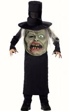 Boys Zombie Mad Hatter fancy dress costume Halloween Childs Face outfit