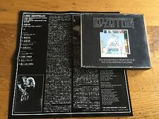 LED ZEPPELIN The soundtrack from the film/the song remains  the same- Jap Ed 2CD