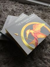 RARE The Hunger Games Special Collectors Luxury Edition Trilogy 😍