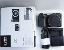 Sony Alpha NEX-6 (Body Only) WiFi Mirrorless Camera 9.5k Shutter Count