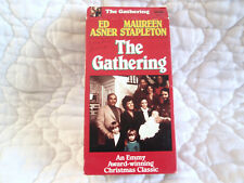 THE GATHERING VHS 1977 CHRISTMAS TV MOVIE ED ASNER MAUREEN STAPLETON FAMILY