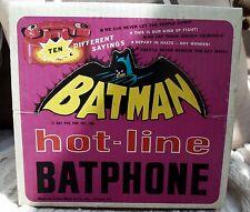 MARX Original BATPHONE Batman 1966 vintage boxed Great condition