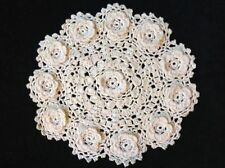 Pink Crocheted Doilies