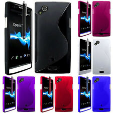 Protective Case for Sony Xperia Arc X12 Lt15i LT15a Silicone Flip Cover
