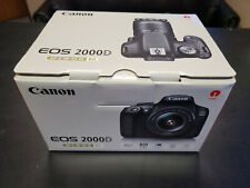 New in Box Canon EOS 2000D Rebel T7 24.1MP 1080p DSLR Camera + EF-S 18-55mm Lens