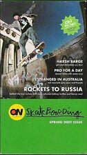 (2002) On Video Magazine / Spring 2002 / Vhs Skateboard Video!