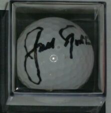 JACK NICKLAUS SIGNED  AUGUSTA NATIONAL GOLF BALL WITH NICKLAUS FOUNDATION  SHIRT