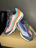 Nike Air Max 95 Black History Month Multi-Color BHM 720 CT7435-901 Men's Sz 6.5