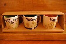 STARBUCKS - Demitasse Cups (Ho Chi Minh City, Vietnam, Hanoi) -  (set of three)