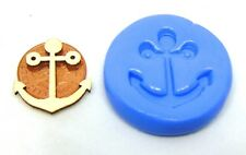 Reusable Anchor Silicone Rubber Mould Sugarcraft Jewellery Food Safe Tumdee