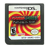 DS Cartridge Game Mario & Luigi: Partners US Version English NIntendo DS 3DS 2DS