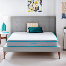 Linenspa Essentials Bedroom Mattress 8in. Thick Twin XL Size Tight Top Hybrid