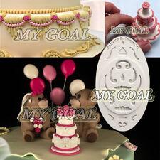 MINI & MICRO BORDER ROYAL ICING Silicone Fondant Mould Cake Decor Gum Paste Mold